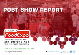 2015 ALGERIA FOODEXPO POST SHOW REPORT.cdr