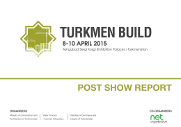 Exhibitor List - Turkmen Construction