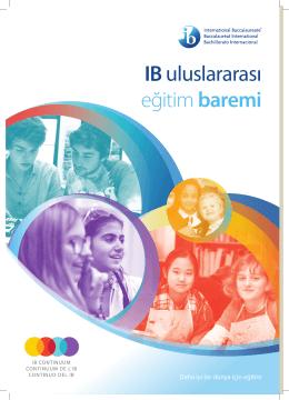 IB uluslararası eğitim baremi
