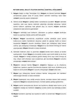 NETGSM SANAL (BULUT) TELEFON SANTRALİ (SANTRAL