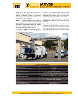 MXVSS Teknik Özellikler - BSS Güvenlik Sistemleri