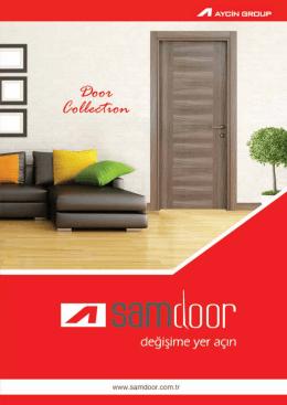 Samdoor kapı e katalog için tıklayınız.