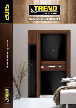 2015-2016 Katalog - trend çelik kapı