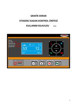 grafik ekran stokerli kazan kontrol ünitesi kullanım kılavuzu v1.0