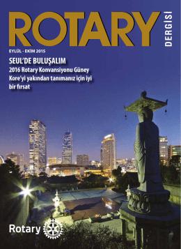 SEUL`DE BULUŞALIM - Rotary 2440. Bölge