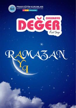 ramazan - Pınar Eğitim Kurumları