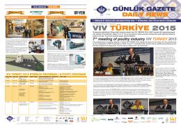 vıv türkiye 2015 - viv turkey 2015