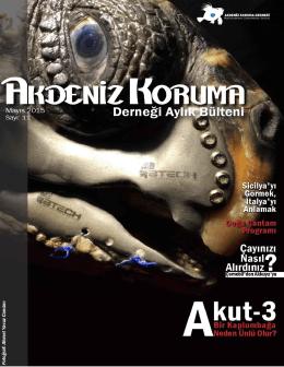 Mayıs 2015 - Sayı 11 - Akdeniz Koruma Derneği