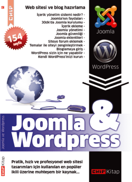 WordPress & Joomla E