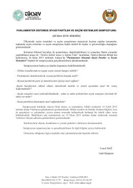 sempozyum davet mektubu - türkiye kültür sanat ve eğitim vakfı