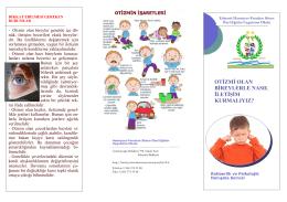 otizmi olan bireylerle nasıl iletişim kurmalıyız? - hamiyyet