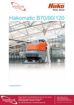 Hakomatic B70/90/120