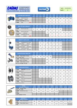 çek vana, emniyet ventili, kompansatör, pirinç küresel vanalar