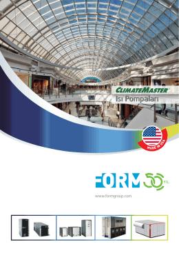 Climate Master Katalog - Form Endüstri Ürünleri