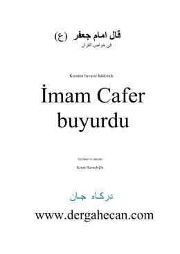 İmam Ca`fer`in - Ahmed el Hasan as