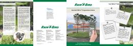 Rain Bird TBOS-II Programlama Sistemi Broşür