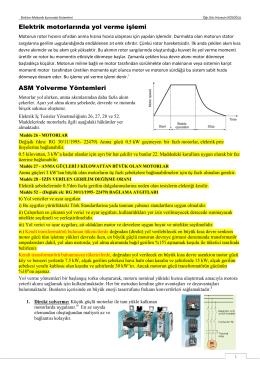 Elektro-Mekanik Kumanda sistemleri Ders Notu-7