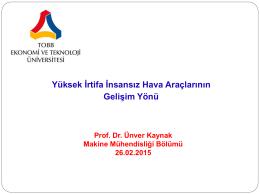 Prof.Dr.Ünver KAYNAK