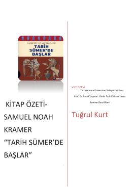 "Samuel Noah Kramer ""Tarih Sümer`de Başlar"""