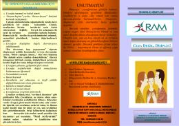 UNUTMAYIN! - Mardin Rehberlik ve Araştırma Merkezi