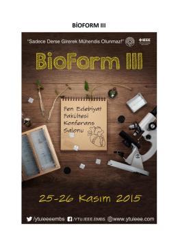 Basın Yazısı Bioform3 - Yıldız Teknik Üniversitesi Metalurji ve