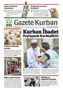 Gazete Kurban 2015