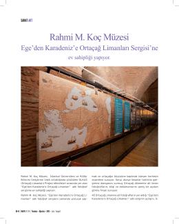 Sanat: Rahmi M. Koç Müzesi Ege`den Karadeniz`e Ortaçağ