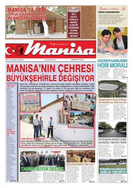 Kasım Sayısı - Manisa Belediyesi