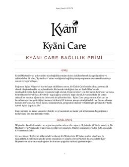 Kyani Care Detaylı Anlatım - DreamTeam-TR