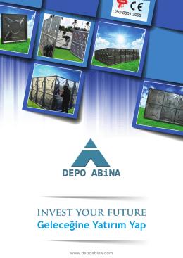 DEPO ABİNA -SADECE - Modular Water Tanks
