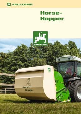 Amazone Horse-Hopper Doküman
