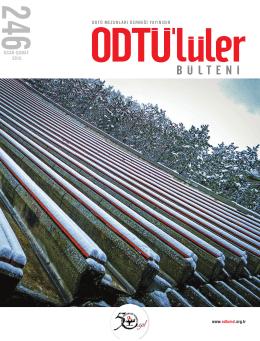OCAK-ŞUBAT 2015 - ODTÜ Mezunları Derneği