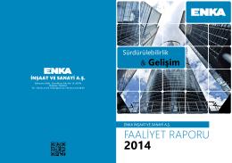 2014 yıllık raporu