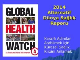 2014 Alternatif Dünya Sağlık Raporu