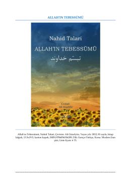 ALLAH`IN TEBESSÜMÜ (تبسّم خداوند), Nahid Talari, Çeviren