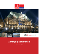 Bremen Brochure Turkey - WFB Wirtschaftsförderung Bremen GmbH