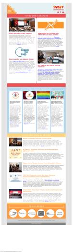 TÜSEV e-bülten sayı 90, Nisan 2015