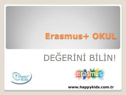 Erasmus+ 2015 Okul Projeleri Sunusu