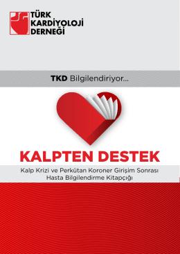 KALPTEN DESTEK - Türk Kardiyoloji Derneği