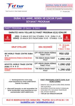 950 USD 1.090 USD 1.090 USD 1.290 USD DUBAI 12. ANNE