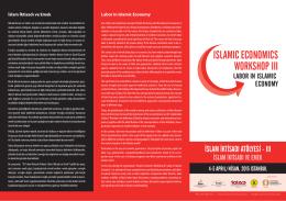 ISLAMIC ECONOMICS WORKSHOP III