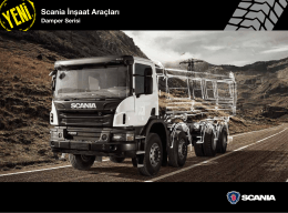 Yeni Scania Damper Serisi