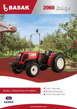 2060 Bahçe - Başak Traktör