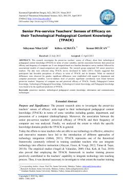 Tam Metin-PDF - kuramsal eğitimbilim dergisi