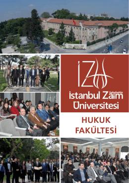 HUKUK FAKÜLTESİ - İstanbul Sabahattin Zaim Üniversitesi