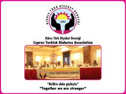 İndir - Kıbrıs Türk Diyabet Derneği