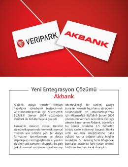 Akbank - VERIPARK