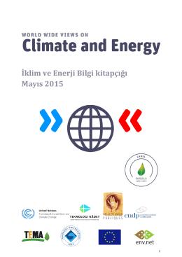 İklim ve Enerji Bilgi kitapçığı Mayıs 2015