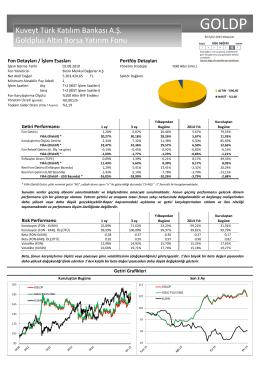 Kuveyt Türk Katılım Bankası A.Ş. Goldplus Altın Borsa Yatırım Fonu