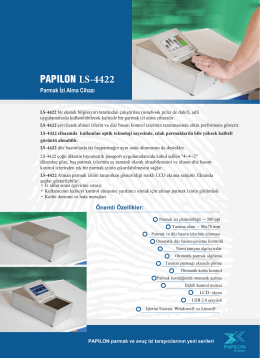 PAPILON LS-4422 - Papilon Savunma